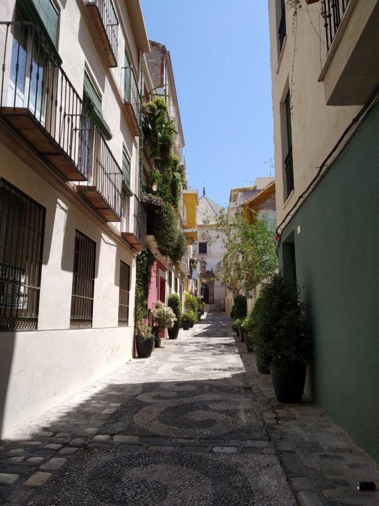 Calle Cabello en Málaga
