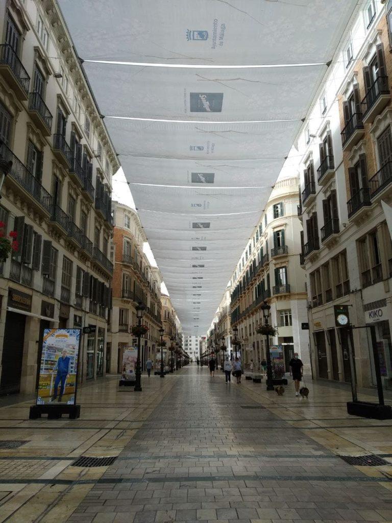 Calle Larios en Málaga