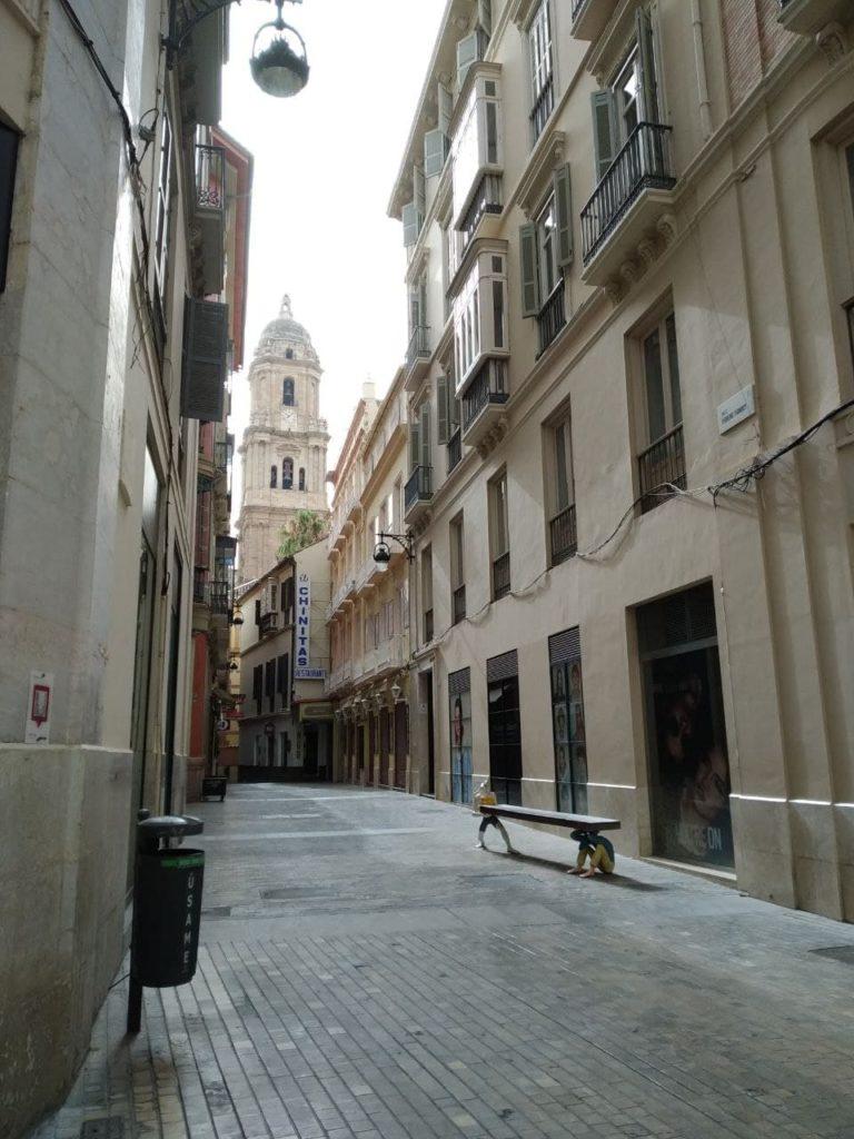 Calle Moreno Monroy en Málaga
